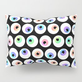 Lovely Sparkly Rainbow Eyeballs Pillow Sham