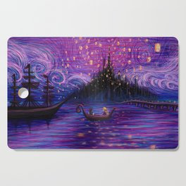 The Lantern Scene Cutting Board