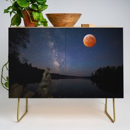 Super Blood Wolf Moon Credenza