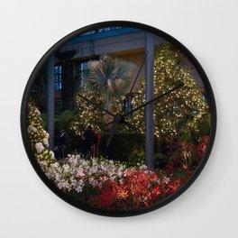 Longwood Gardens Christmas Series 3 Wall Clock