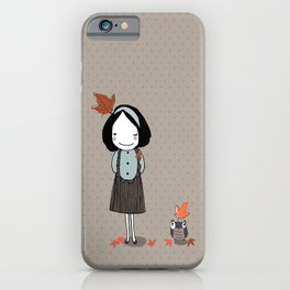 Autumn in my heart iPhone Case