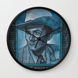 Singing the Blues Wall Clock