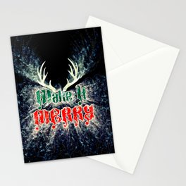 Make It Merry Stationery Cards