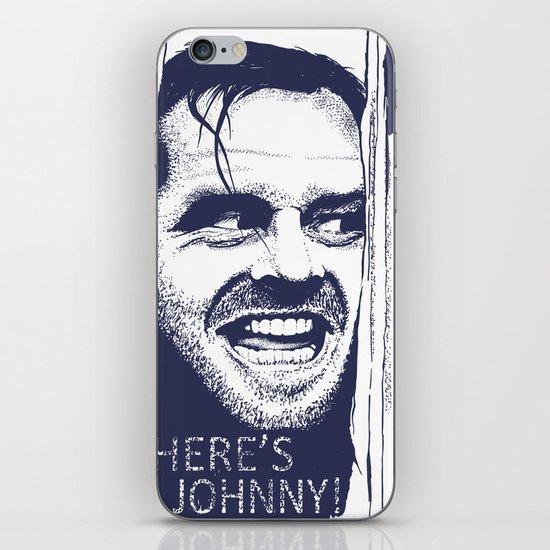 Here's Johnny! iPhone & iPod Skin