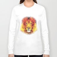 the lion king Long Sleeve T-shirts featuring lion king by Ancello