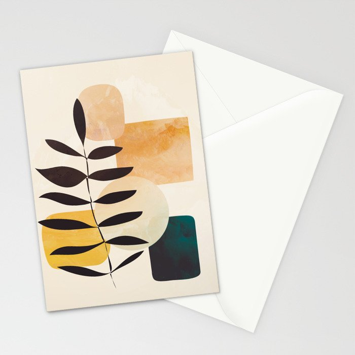 Abstract Elements 20 Stationery Cards
