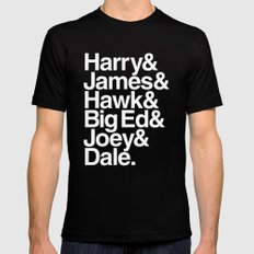 The Bookhouse Boys (Black Lodge) LARGE Black Mens Fitted Tee