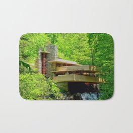 Frank Lloyd Wright | architect | Fallingwater Bath Mat