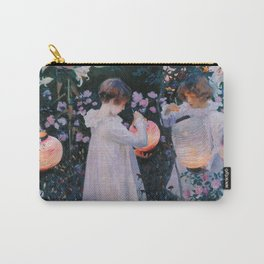 John Singer Sargent ; Carnation, Lily, Lily, Rose ; 1886 Carry-All Pouch