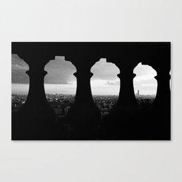 View Paris Canvas Print