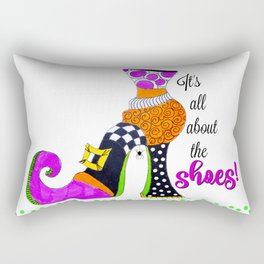 It's All About the Shoes! Rectangular Pillow