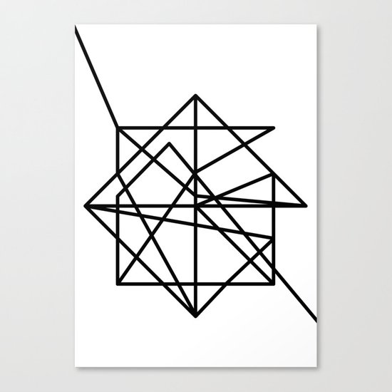 Wire Canvas Print