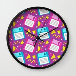 Floppy Disks Wall Clock