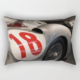 Silver Arrows Rectangular Pillow