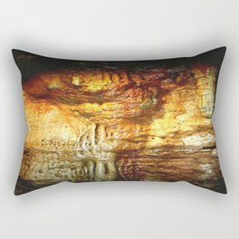 Reflections inside a Dolomite Cave Rectangular Pillow