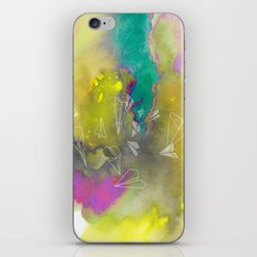 Planes in Watercolor iPhone & iPod Skin