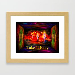 Heavenly apparition  - Take It Easy Framed Art Print