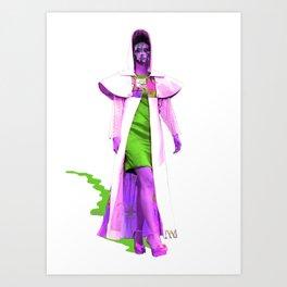 Define Fashion Art Print