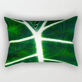 Emerald Elephant Rectangular Pillow