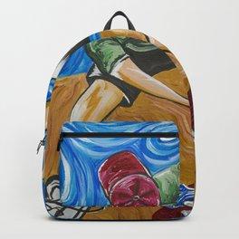 Van Goghs Half Pipe 2 Backpack
