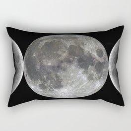Triple goddess | Moon | Moons | Goddess and God Rectangular Pillow