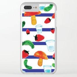 Russki standard Clear iPhone Case
