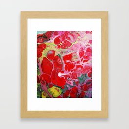 Love's Groove Framed Art Print