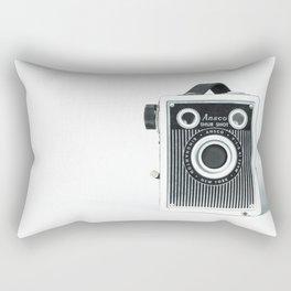 Sure Shot Vintage Camera Rectangular Pillow
