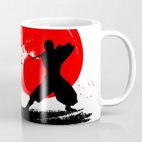 ninja Mugs featuring Ninja by Emir Simsek