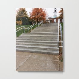 Norwich Staircase One Metal Print