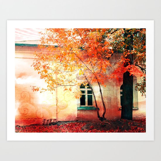 Season of Fire Art Print