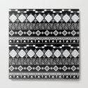 Aztec black and white pattern. by marinaklykva