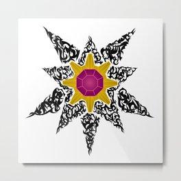 Tribal Starmie Metal Print