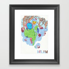 Hum  Framed Art Print