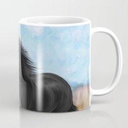 Drawing horse Coffee Mug