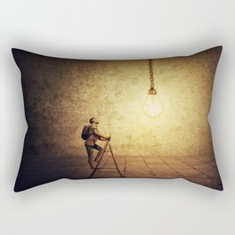 idea achievement Rectangular Pillow