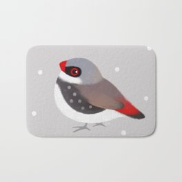 Diamond Firetail Bath Mat