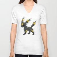 the moon V-neck T-shirts featuring Moon by Melissa Smith