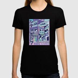 Vaporwave City City Sound Stereo T-shirt