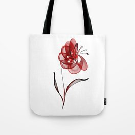Vector Flower Tote Bag