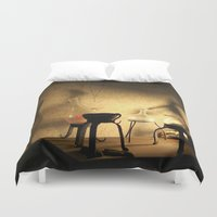 lab Duvet Covers featuring the lab by XfantasyArt