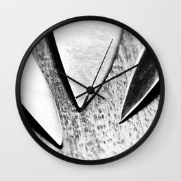 Cutlery 3: Just The Tip Wall Clock