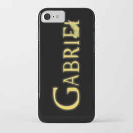 Gabriel with Feather iPhone Case