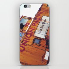 the union pacific caboose iPhone & iPod Skin