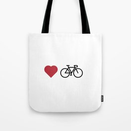 love my bike Tote Bag