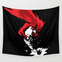thor Wall Tapestries featuring Thor by Irene Flores