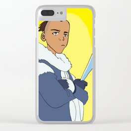 Sokka Clear iPhone Case