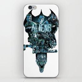 Aliens Illustration Tribute iPhone Skin