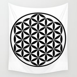 Pure Energy The Flower of Life Wall Tapestry