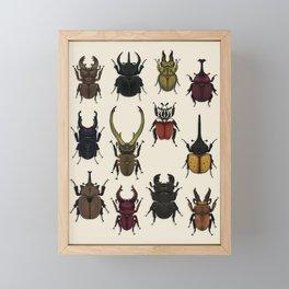 Beetles of New Horizons Framed Mini Art Print